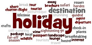 IELTS Holiday vocabulary